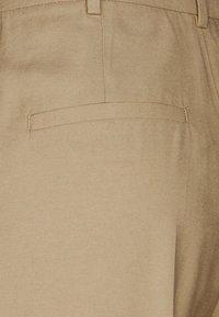 Lindex - SANDRA STRAIGHt ELONGATED - Trousers - beige - 2