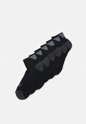 MENS PERFORMANCE QUARTER 6 PACK - Sports socks - black