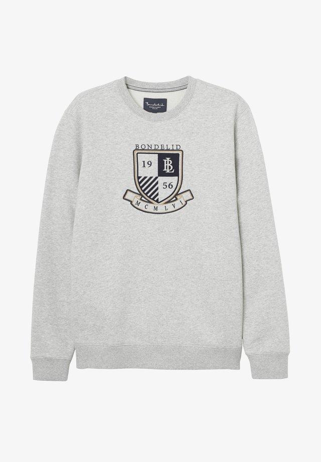 CREW NECK - Sweatshirt - mid grey mel