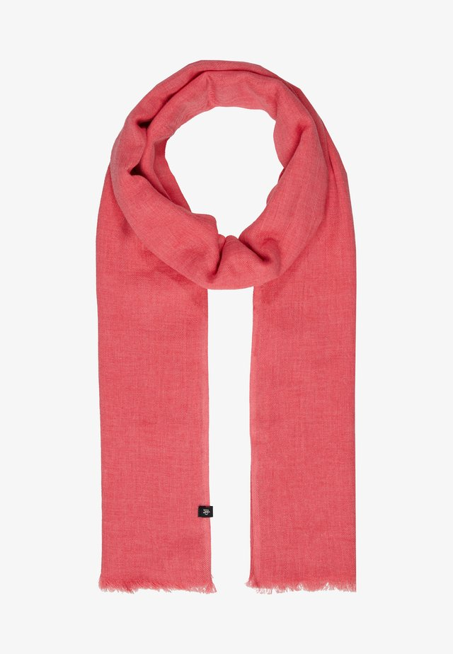 Scarf - bright berry
