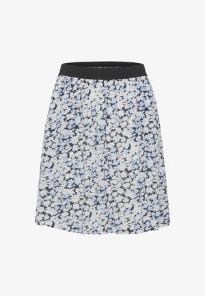 KAFELIA AMBER  - Jupe trapèze - blue toned daisy print