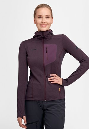 ACONCAGUA LIGHT ML  - Kurtka Softshell - blackberry