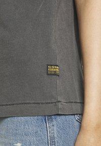G-Star - REGULAR FIT TEE OVERDYED - T-shirts - raven - 3