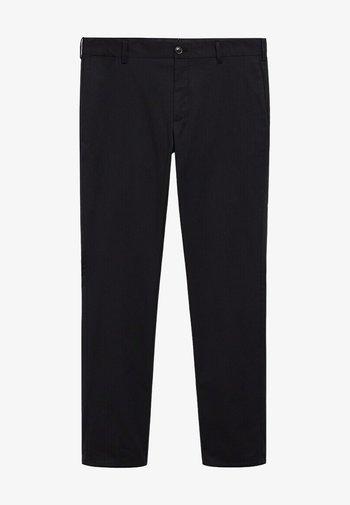DUBLIN - Chino kalhoty - schwarz