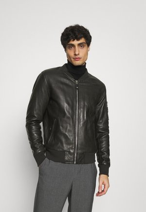 BALLE - Leather jacket - black