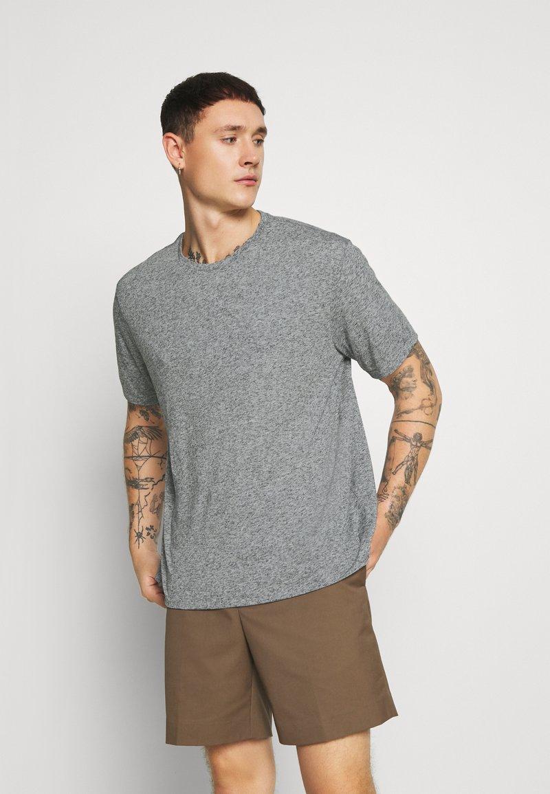 AllSaints - NEPTUNE CREW - Basic T-shirt - grey mouline