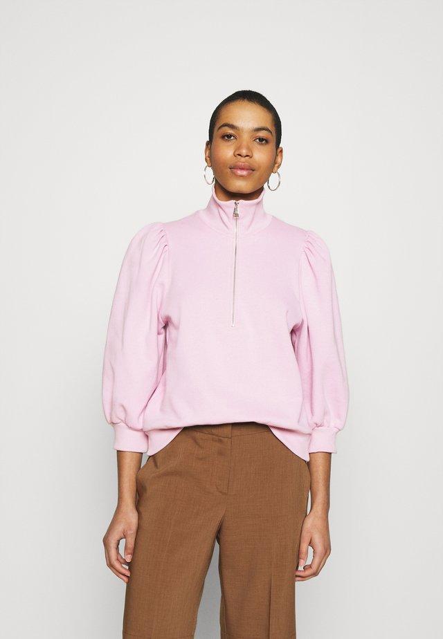NANKITAGZ ZIPPER  - Sweater - fragrant lilac