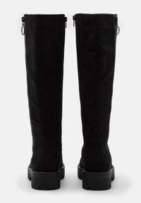 Esprit - NAPOLI BOOT - Kozačky na platformě - black - 3
