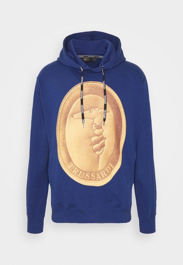 HOODIE - Felpa con cappuccio - navy blue