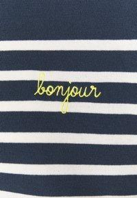 Maison Labiche - COOL SAILOR BONJOUR - Top sdlouhým rukávem - midnight blue ivory - 2