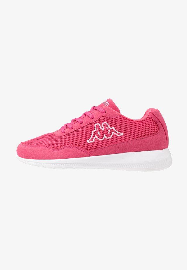FOLLOW - Obuwie treningowe - pink/white