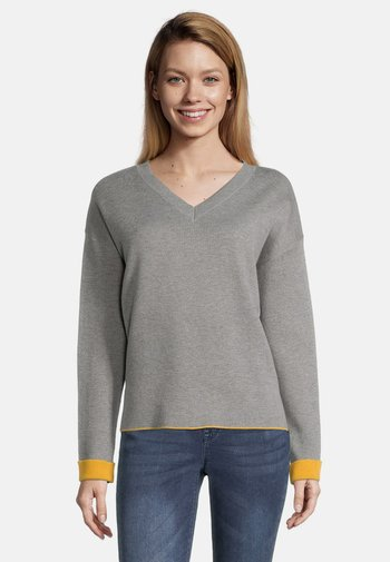 Jumper - grey/yellow