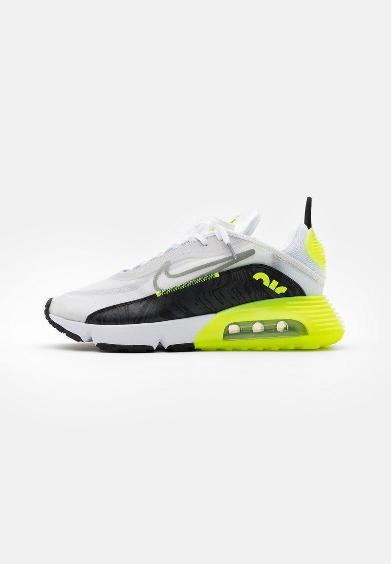Nike Sportswear - AIR MAX 2090 - Trainers - white/cool grey/volt/black
