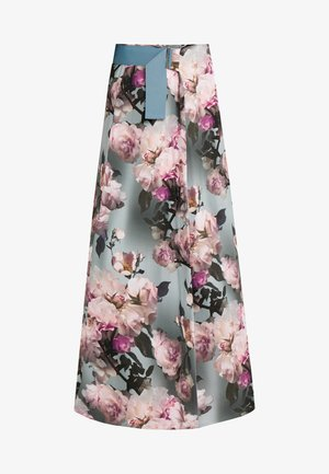 A-line skirt - glaze patterned