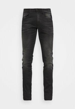 ANBASS HYPERFLEX REUSED X LITE - Slim fit jeans - dark grey