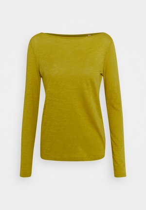 LONG SLEEVE BOAT NECK - Topper langermet - fresh pea