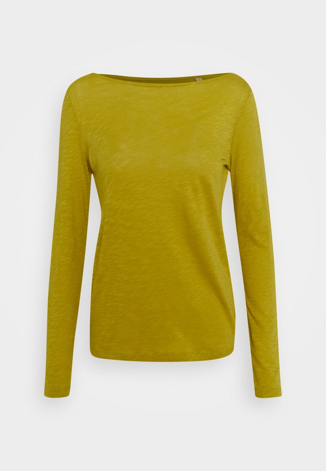 LONG SLEEVE BOAT NECK - Top s dlouhým rukávem - fresh pea