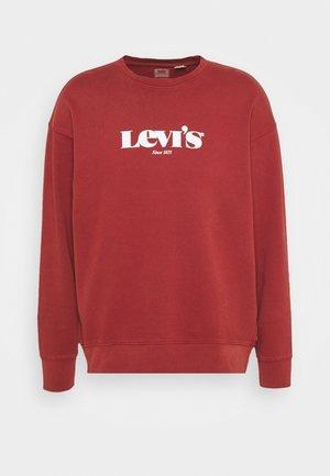 RELAXED GRAPHIC CREW - Sweatshirt - blacks