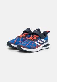 adidas Performance - FORTARUN SPIDERMAN UNISEX - Neutral running shoes - blue/legend ink/bold orange - 1