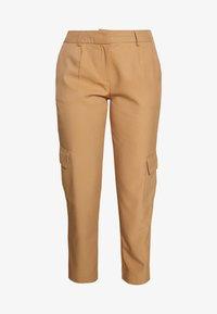 YASCARGOLA PANTS  - Trousers - tannin