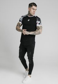 SIKSILK - T-shirt print - black - 0