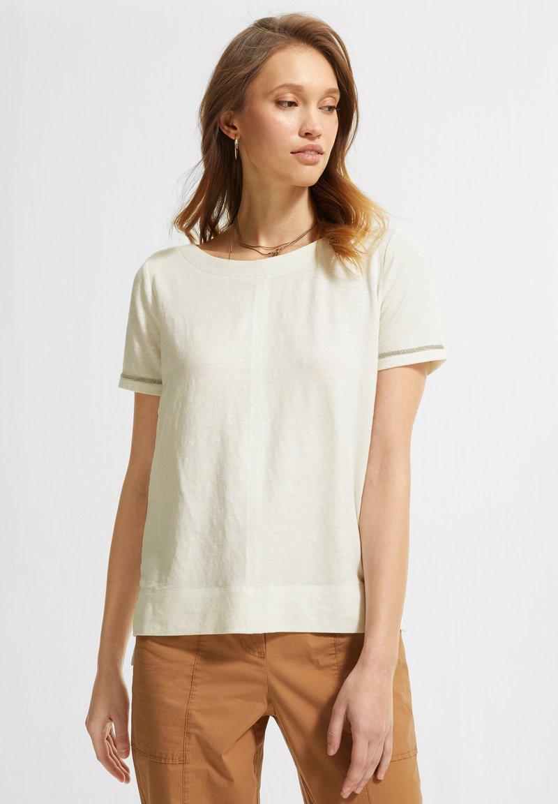 comma casual identity - Basic T-shirt - white