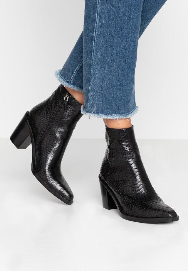 Classic ankle boots - ment nero