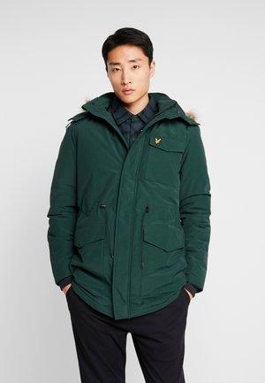 Winter coat - jade green