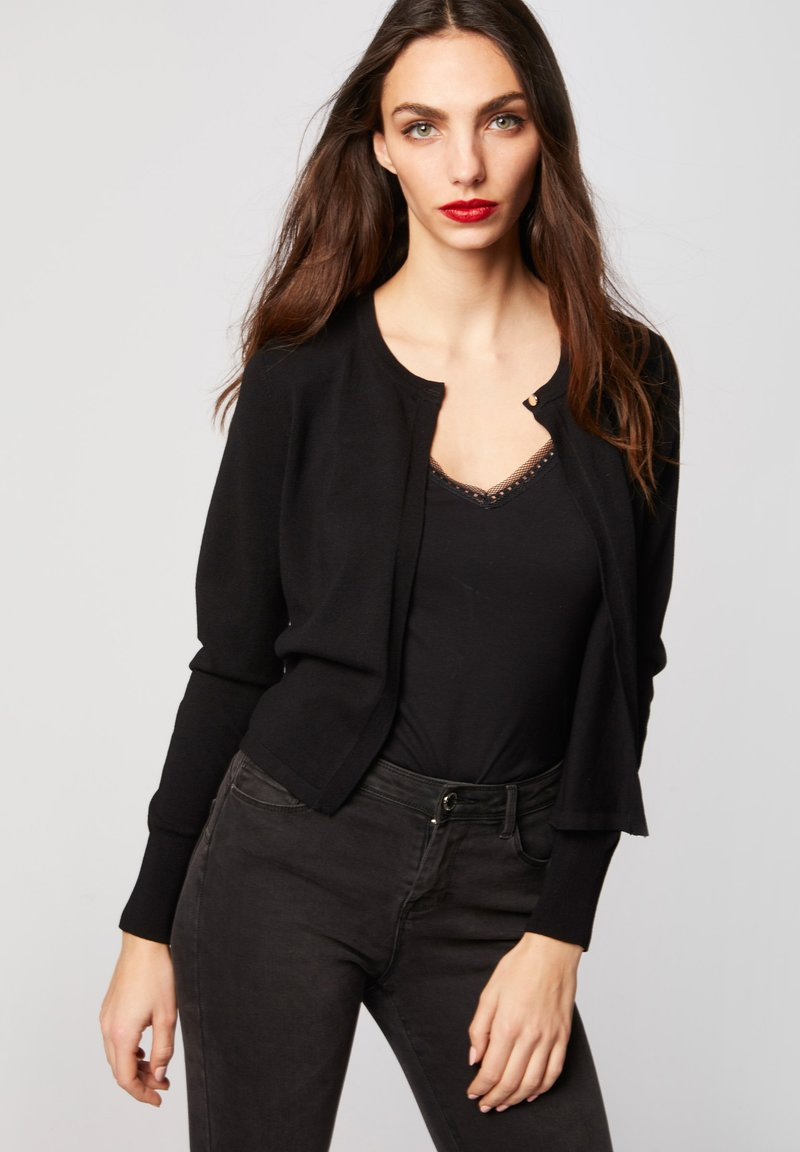 Morgan - MSISA - Cardigan - black