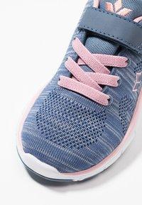 LICO - COLOUR - Sneaker low - blau/grau/rosa - 2