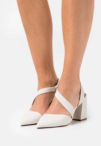 Call it Spring - VEGAN RIPLEY - High heels - bone - 0