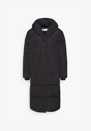 LIYA BOXY COAT - Down coat - black