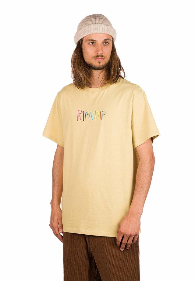 Print T-shirt - tain