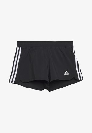 3S SHORT - Korte broeken - black/white