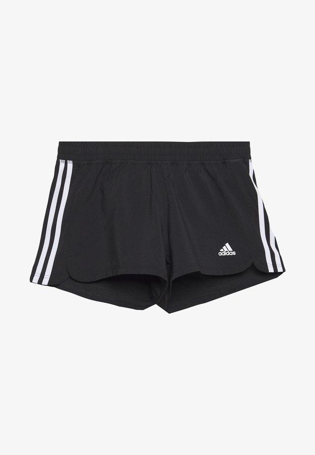 3S SHORT - Korte broeken - black/white