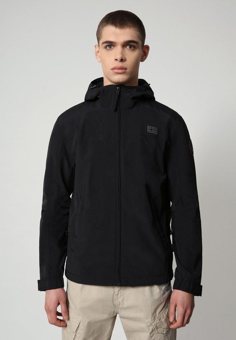 Napapijri - SHELTER HOOD - Light jacket - black