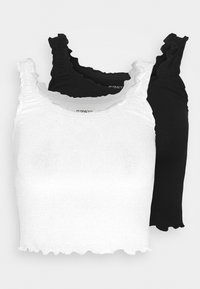 Even&Odd Petite - 2 PACK - Topper - black/white - 0