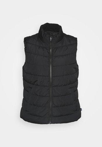 PUFFER VEST - Waistcoat - true black