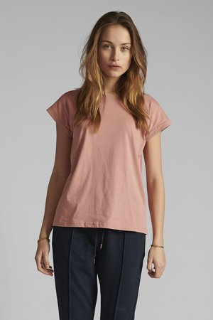 NUBEVERLY  - Basic T-shirt - ash rose