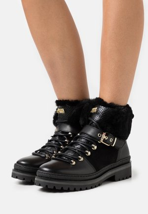 NORTH  - Lace-up ankle boots - black
