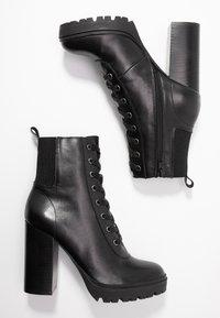 Steve Madden - LATCH - Kotníková obuv na vysokém podpatku - black - 3