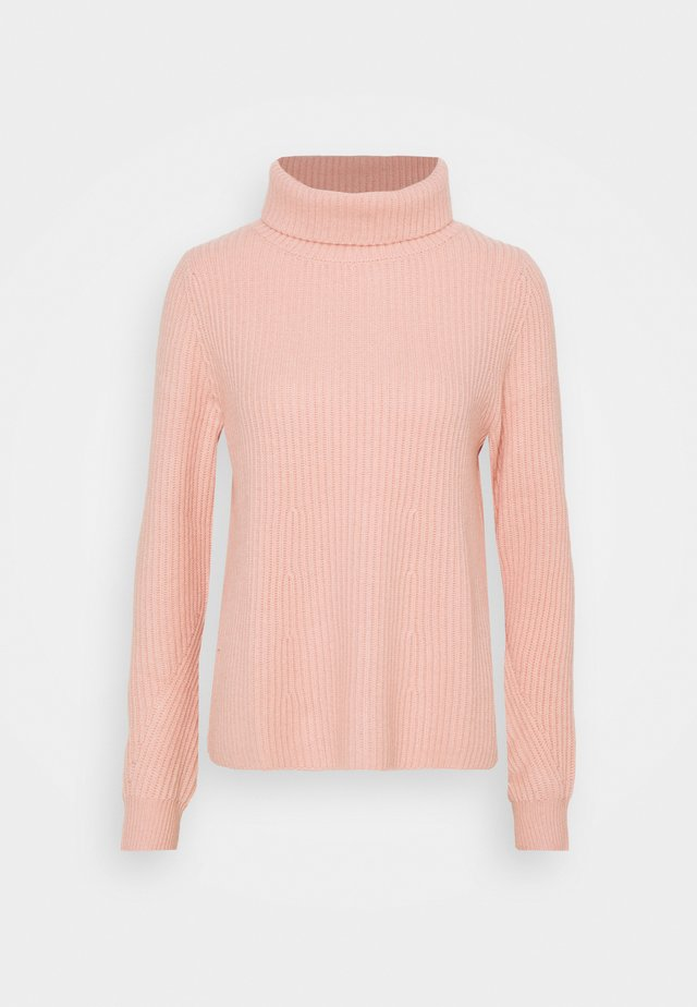 HIGHNECK - Strickpullover - peach powder