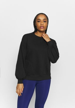 HER CREW - Sweatshirt - black