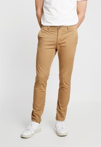 Pier One - Pantalones chinos - tan - 0