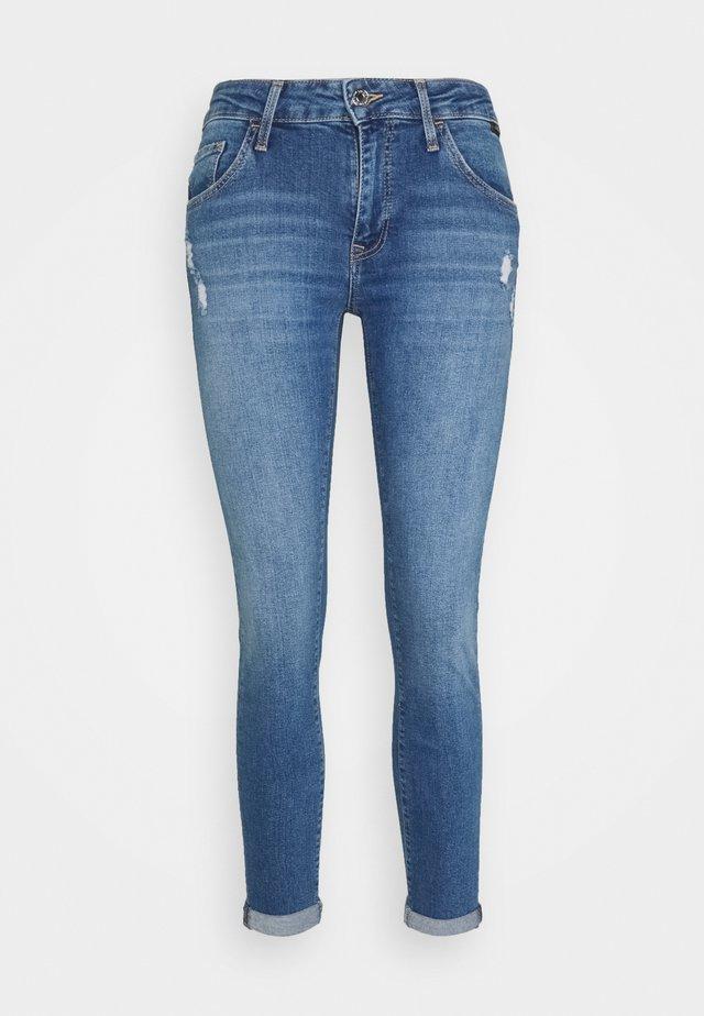 LEXY - Jean slim - light shaded stretch