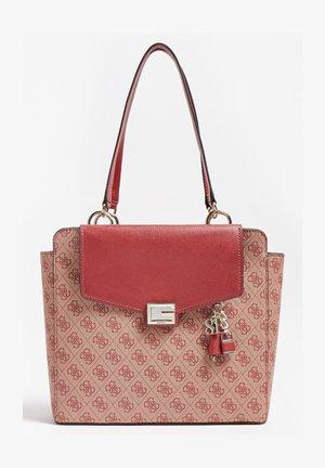 VALY 4G-LOGO - Handbag - bordeaux