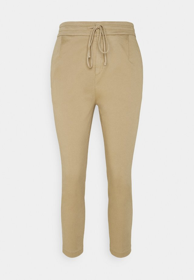 LEVEL - Pantaloni - camel