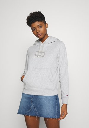 ESSENTIAL LOGO HOODIE - Hoodie - light grey heather