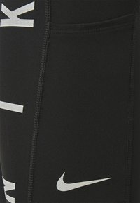 Nike Performance - RUN EPIC FAST - Tights - black/reflective silver - 2