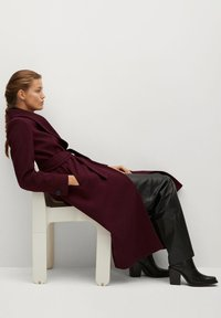 Mango - IN WICKEL-OPTIK - Winter coat - bordeaux - 6